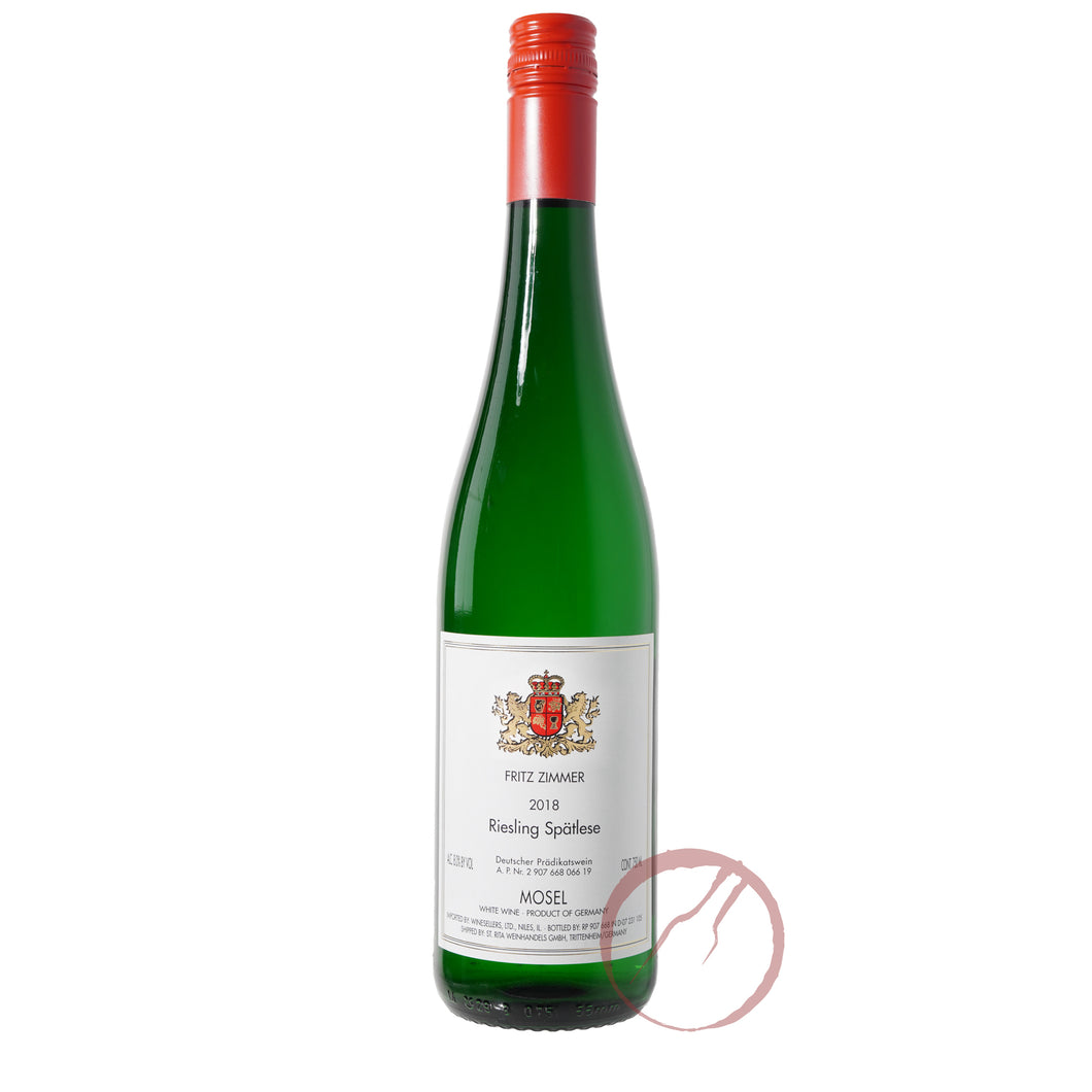 Fritz Zimmer Riesling Spatlese 2018