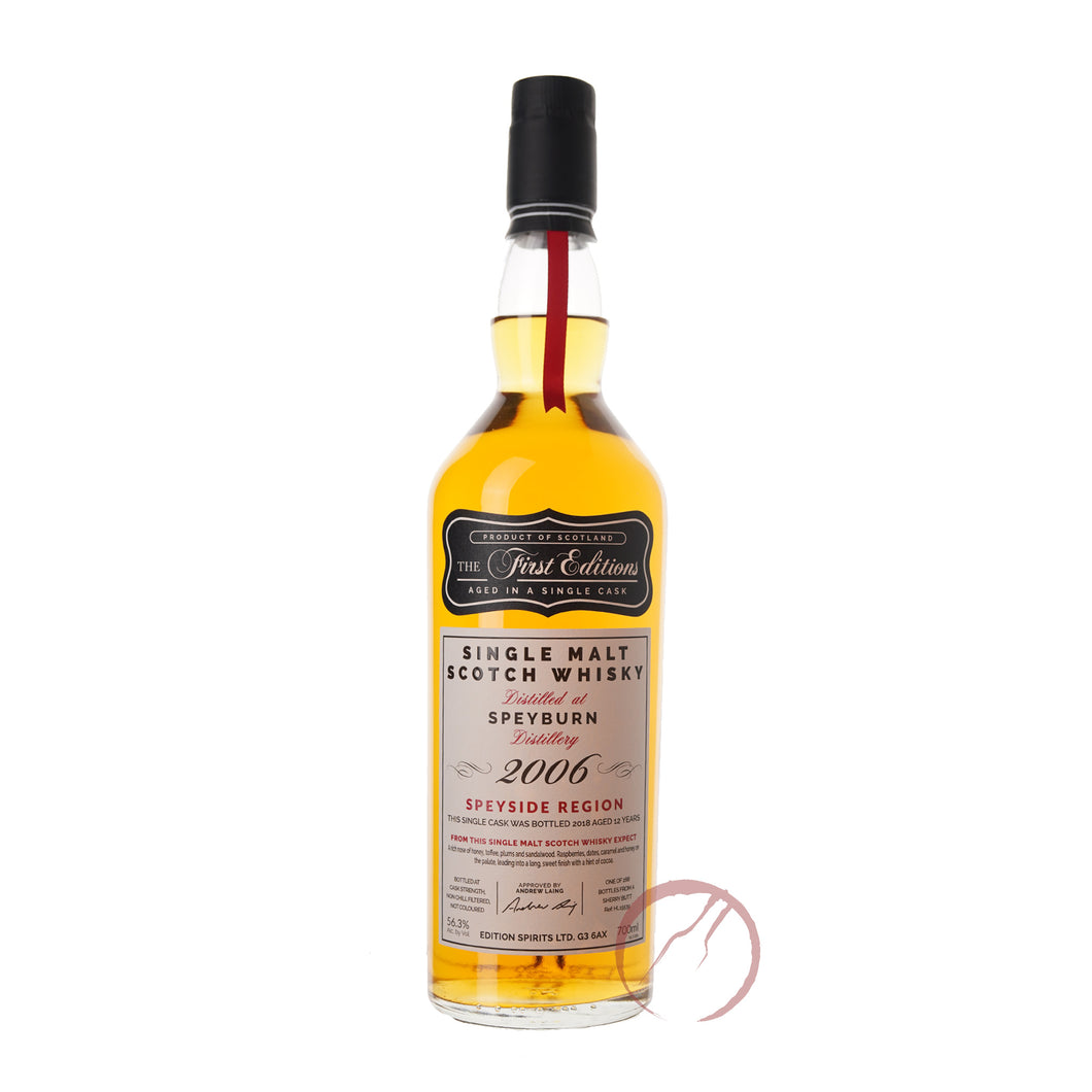 The First Editions Speyburn 2006 12 Year Old