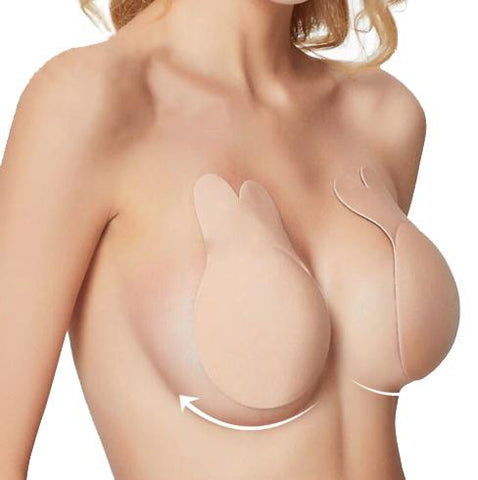 Image of Invisible Push Up Lift Bra