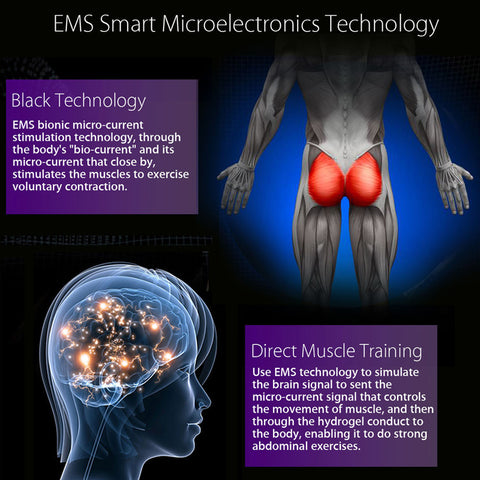 EMS Hip Trainer Muscle Stimulator