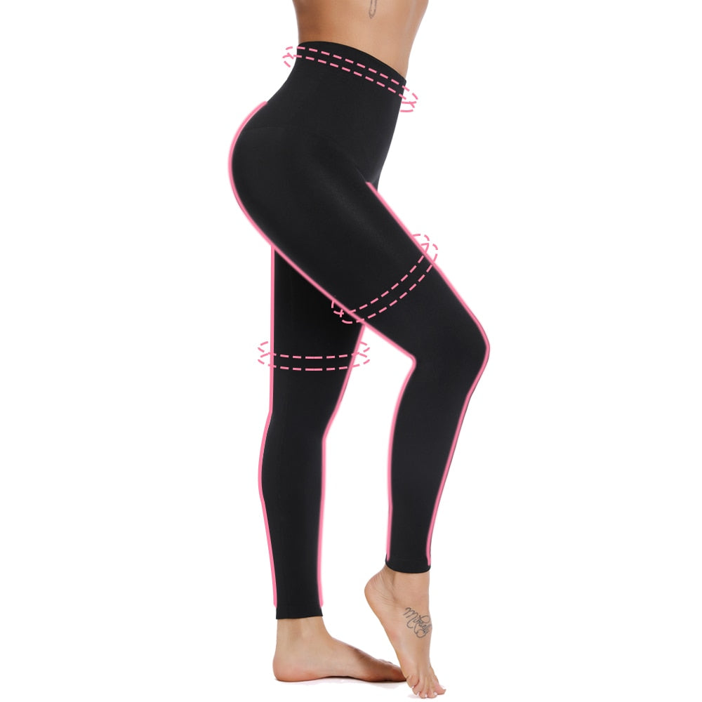 High Waisted Smooth Leggings