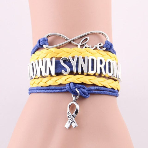 Image of Down Syndrome Bracelet Medical Awareness