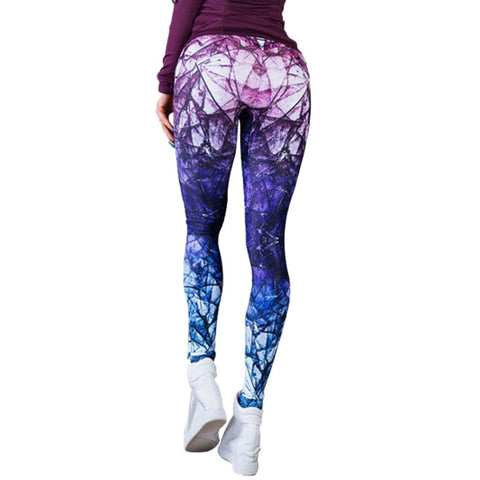 Image of Breaked Through Gradient Leggings