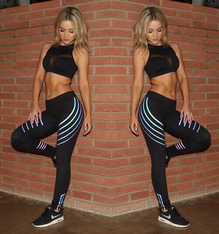 Image of Slim High Waist Elasticity Leggings