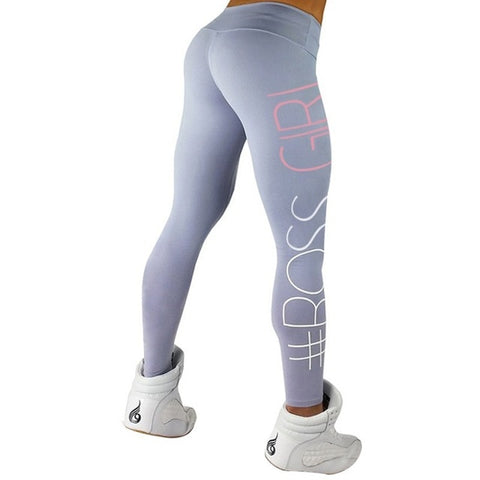 Image of Workout Hashtag Push Up Leggings