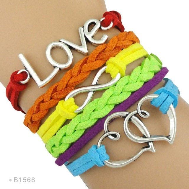 Love is Love Ribbon LGBT