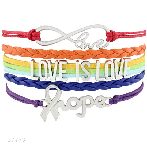 Image of Love is Love Ribbon LGBT