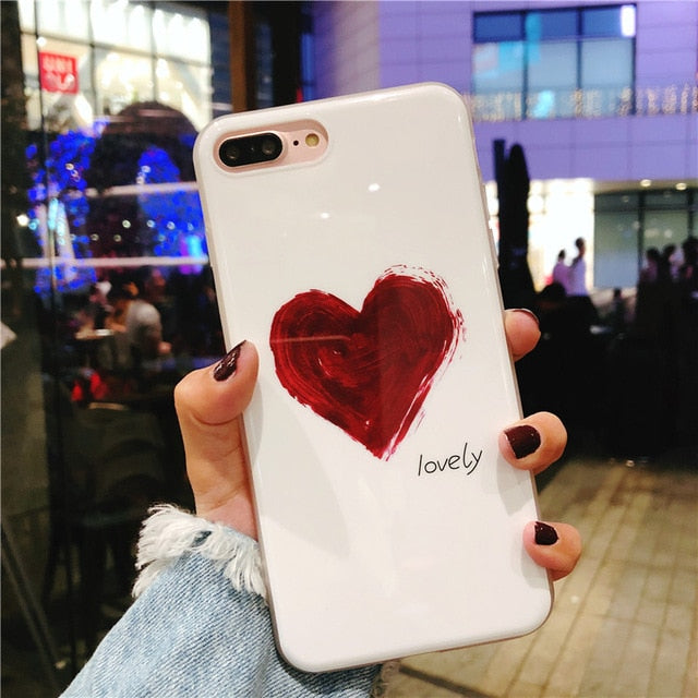 Be loved or Lovely Iphone Case