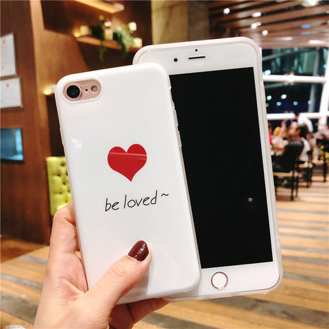 Image of Be loved or Lovely Iphone Case