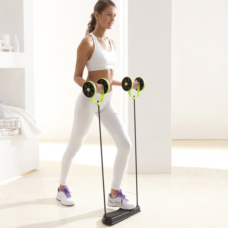Fitness at Home Wheel Ab Roller