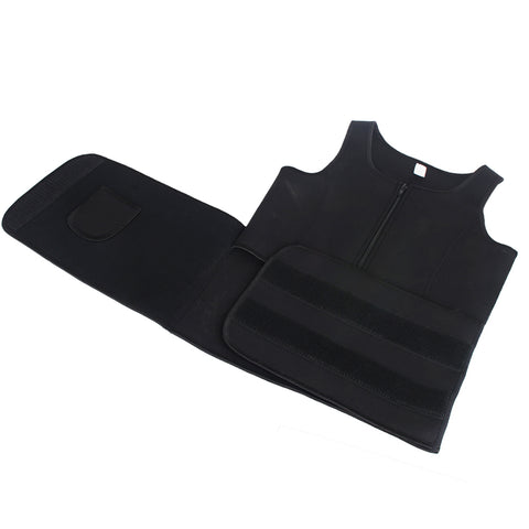 Image of Neoprene Sauna Sweat Vest Body Shaper