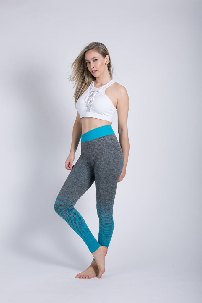 Reverse Color Fade Leggings