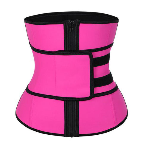 Hourglass High Compression Zipper Waist Trainer
