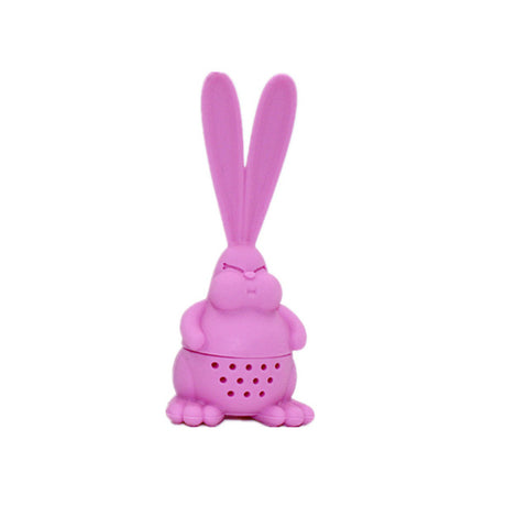 Pink Rabbit Silicone Tea Infuser