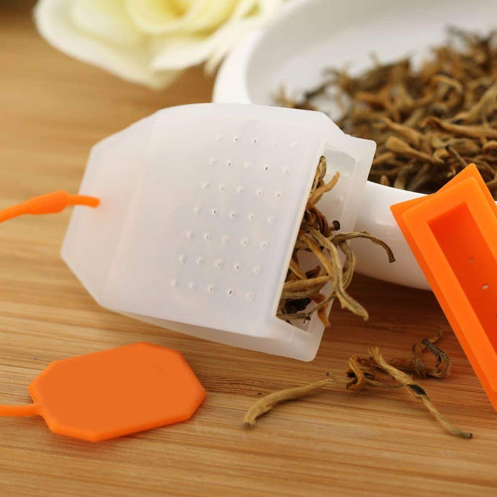 Silicone Tea Infuser Bag Style