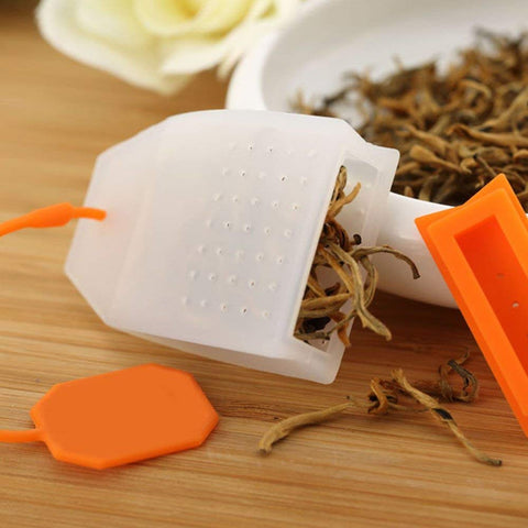 Image of Silicone Tea Infuser Bag Style