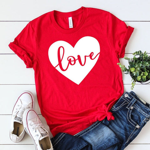 Image of Love Heart T-Shirt