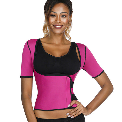 Image of Neoprene Slimming Upperbody Sauna Sweat Waist Trainer Belt Shaper