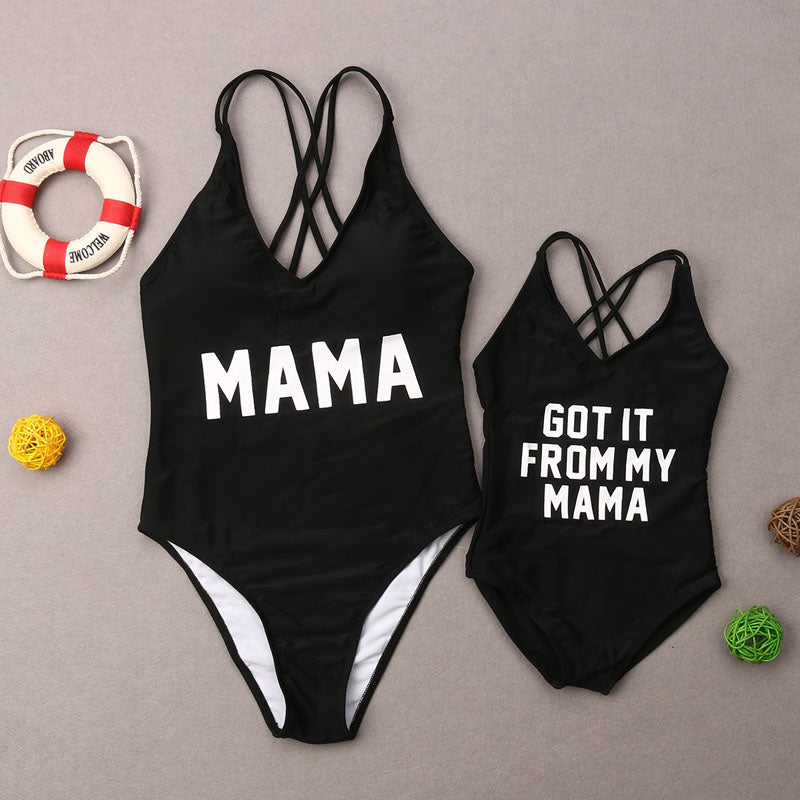 Mom Daughter Swimsuit