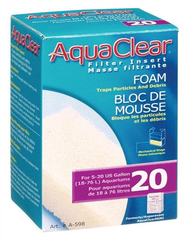 AQUACLEAR 20 FOAM BLOCK