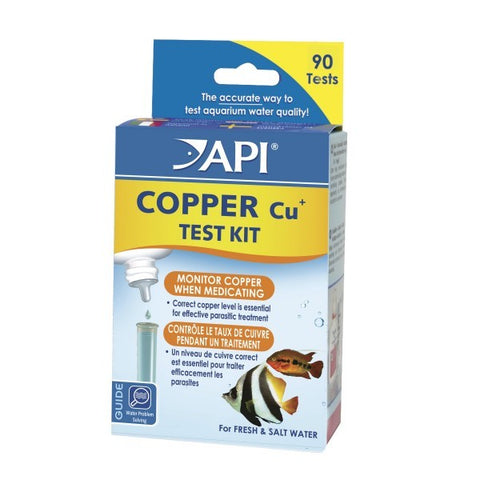 API COPPER TEST KIT LIQUID 1.25OZ FRESH/SALTWATER
