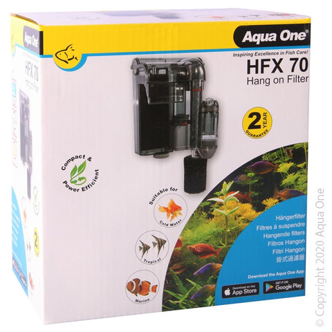 AQUA ONE HFX 70 HANG ON FILTER