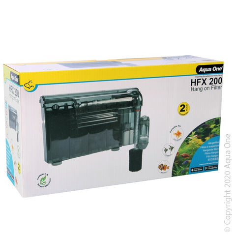 AQUA ONE HFX 200 HANG ON FILTER