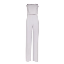 Load image into Gallery viewer, Grey Bustier Jumpsuit