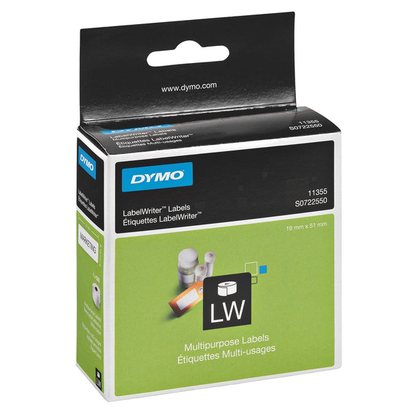 DYMO Labelwriter Multi Purpose Labels 19 x 51mm 500/Roll