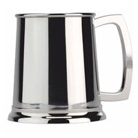 Half Pint Stainless Steel Tankard