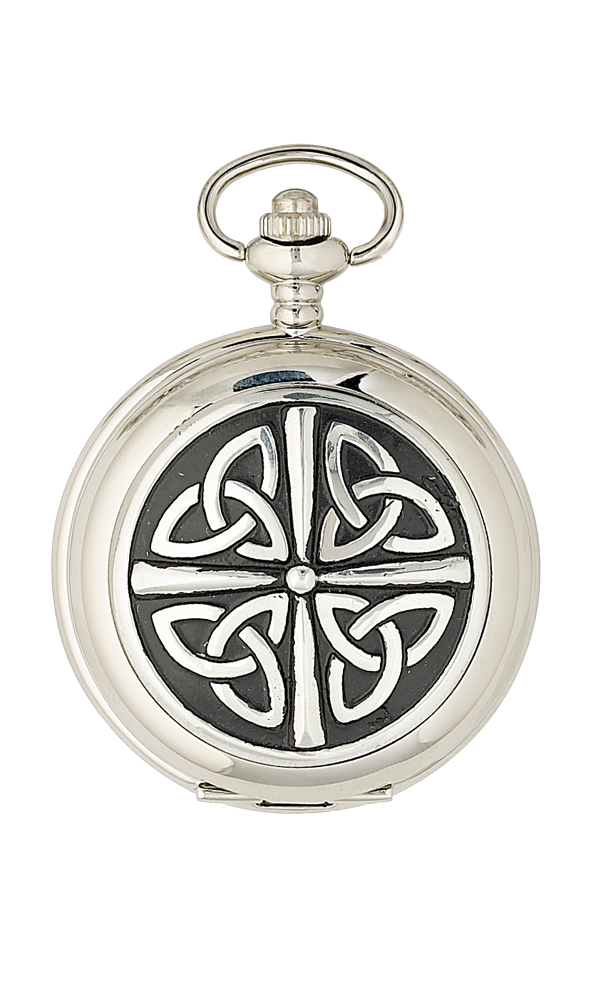 Celtic Knotwork Pocket Watch - Cutting Edge Engravers