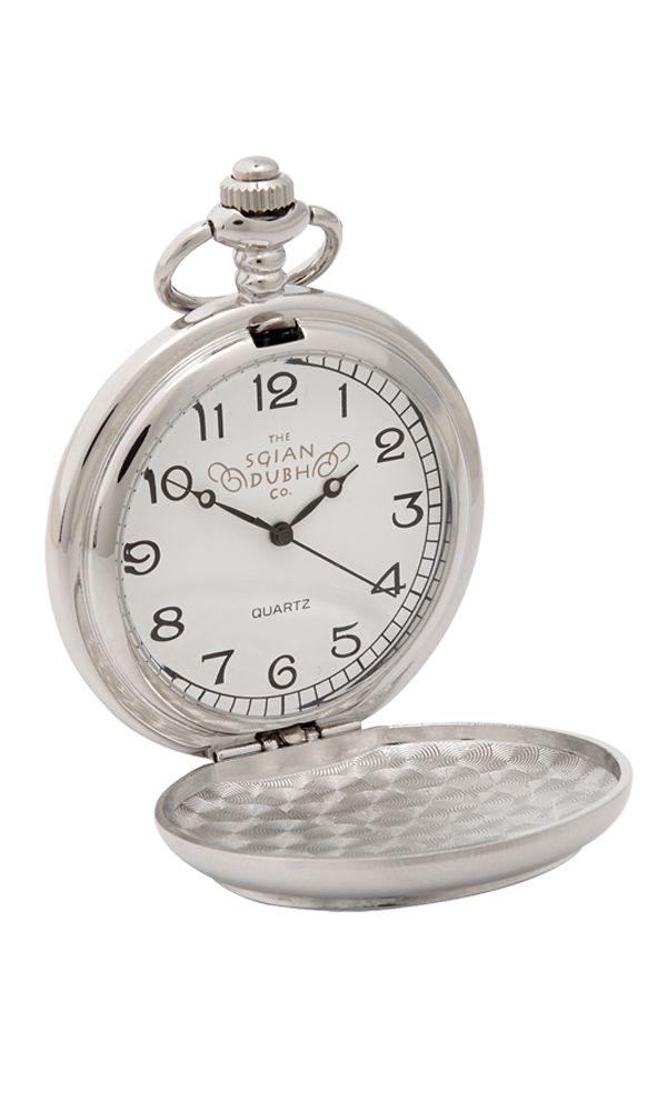 Celtic & Thistle 3 Piece Pocket Watch Gift Set - Cutting Edge Engravers