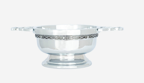 "3"" Chrome Plated Quaich"