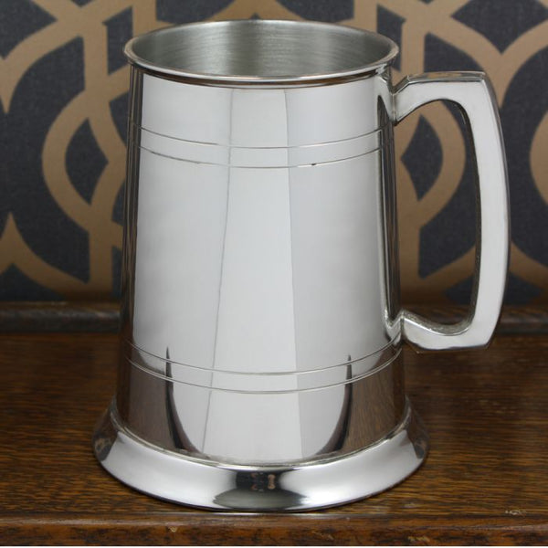 Personalised 2 Line Pewter Tankard - Cutting Edge Engravers