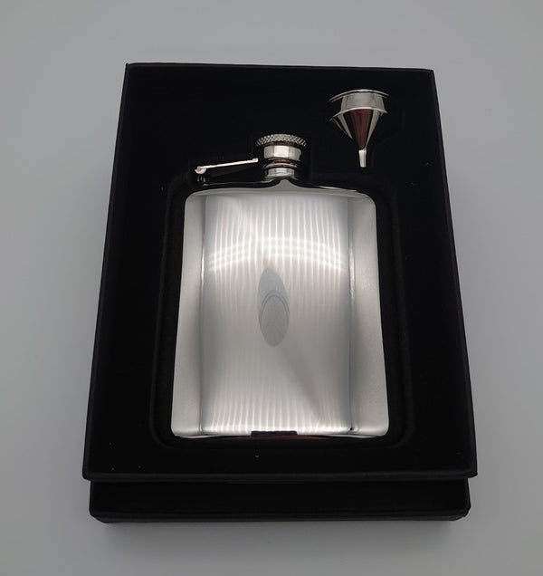 Exmoor Hip Flask 6oz - Cutting Edge Engravers