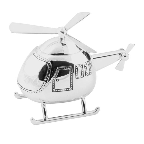 Helicopter Money Box - Cutting Edge Engravers