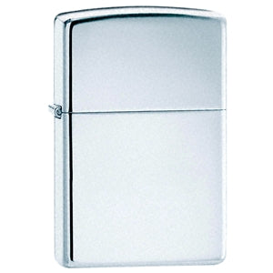 Zippo Polished Chrome Lighter - Cutting Edge Engravers