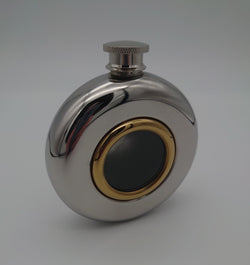 5oz Port Hole Hip Flask - Cutting Edge Engravers