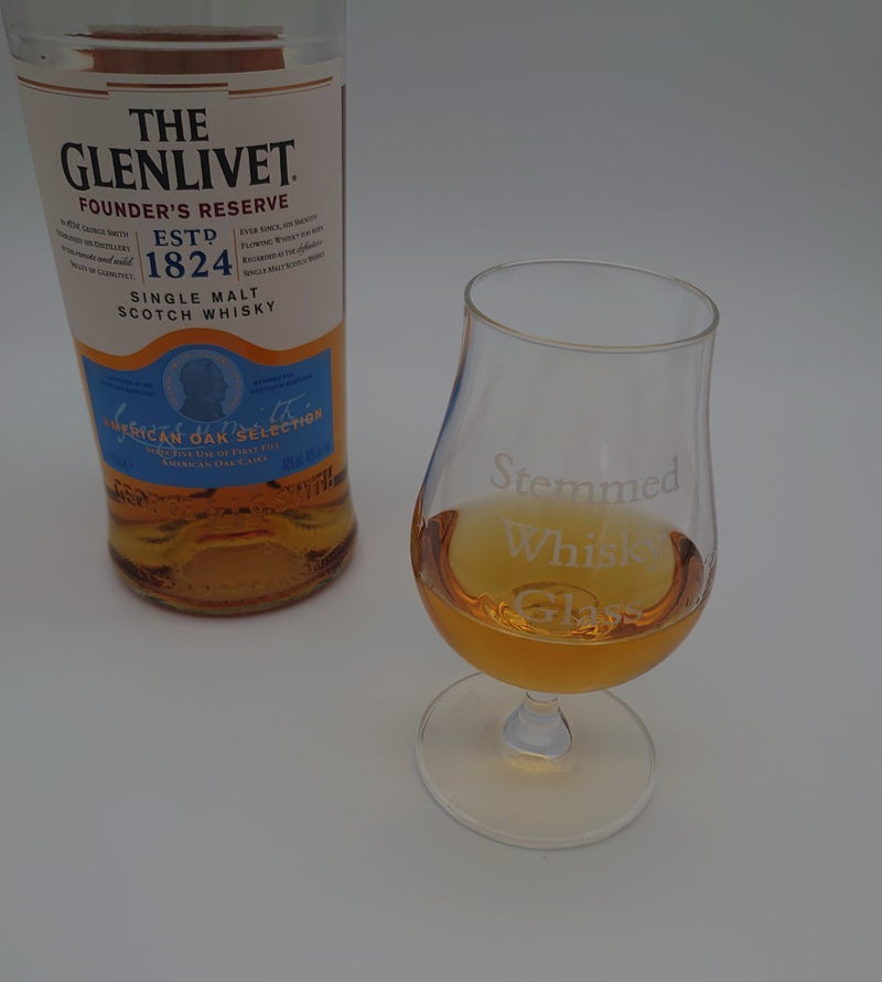 Stemmed Single Malt Whisky Glass - Cutting Edge Engravers