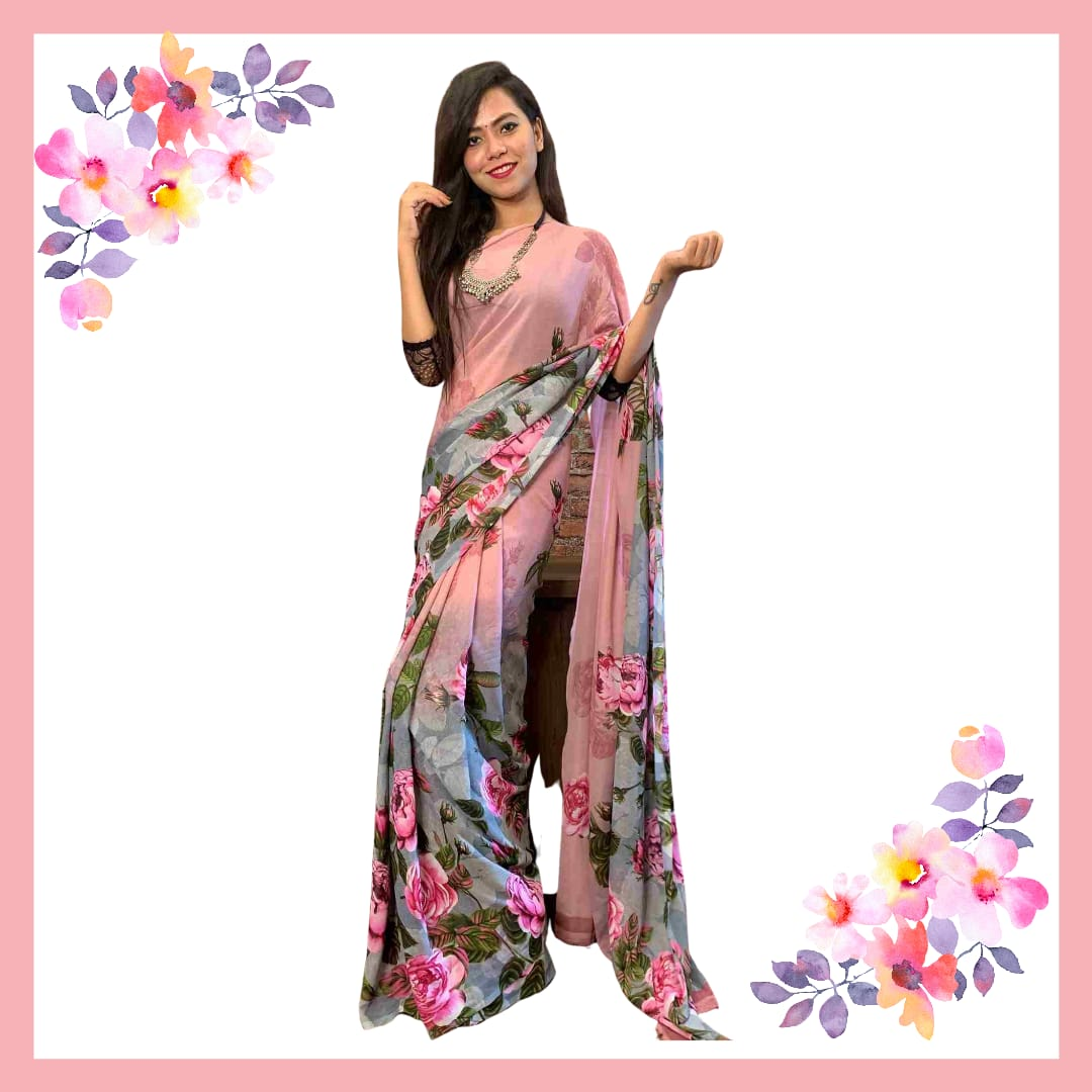 Wrap in 1 Min Saree
