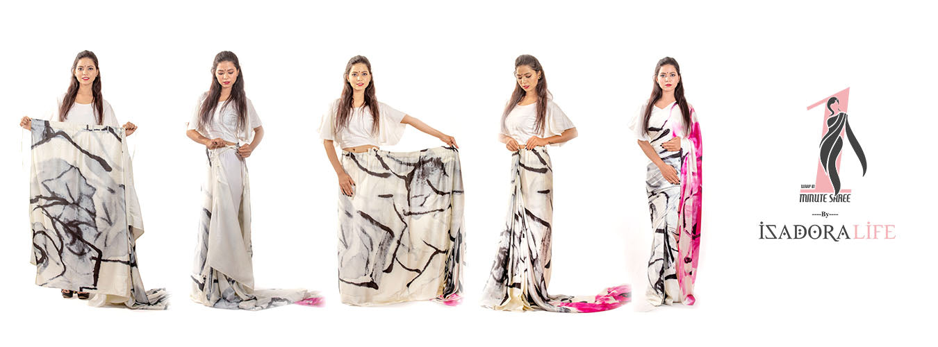 Isadora life - Wrap in 1 Minute Saree