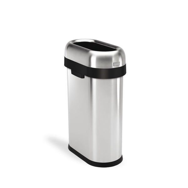 Simplehuman Commercial Slim Open Top Can