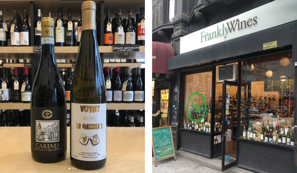 A cozy yet worldly shop that has all the eclectic and exotic wines you could ever want!