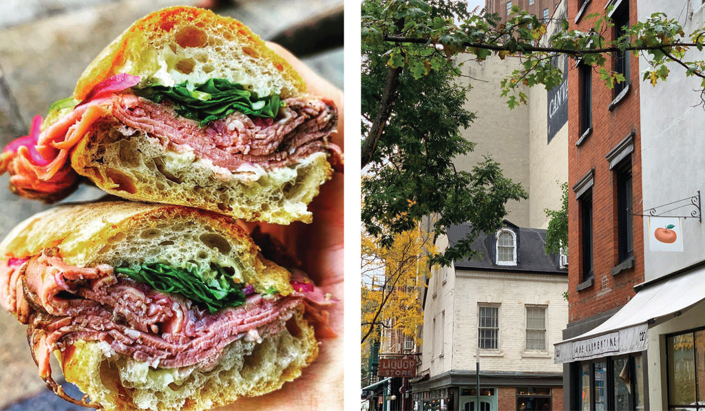 A Tribeca gem with mom and pop appeal, Cafe Clementine is a cozy, comforting cafe that has a daily rotation of fresh seasonal selects