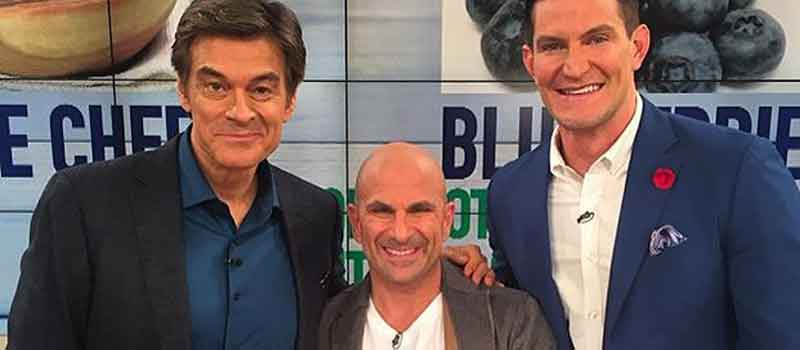 "Dr. Mehmet Oz Joins ""Muscle Chef"" Carlo Filippone"