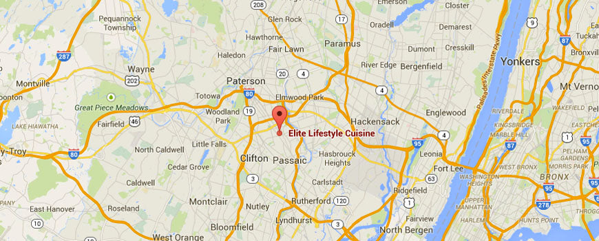 Elite Lifestyle Cuisine Calls Clifton, New Jersey Home