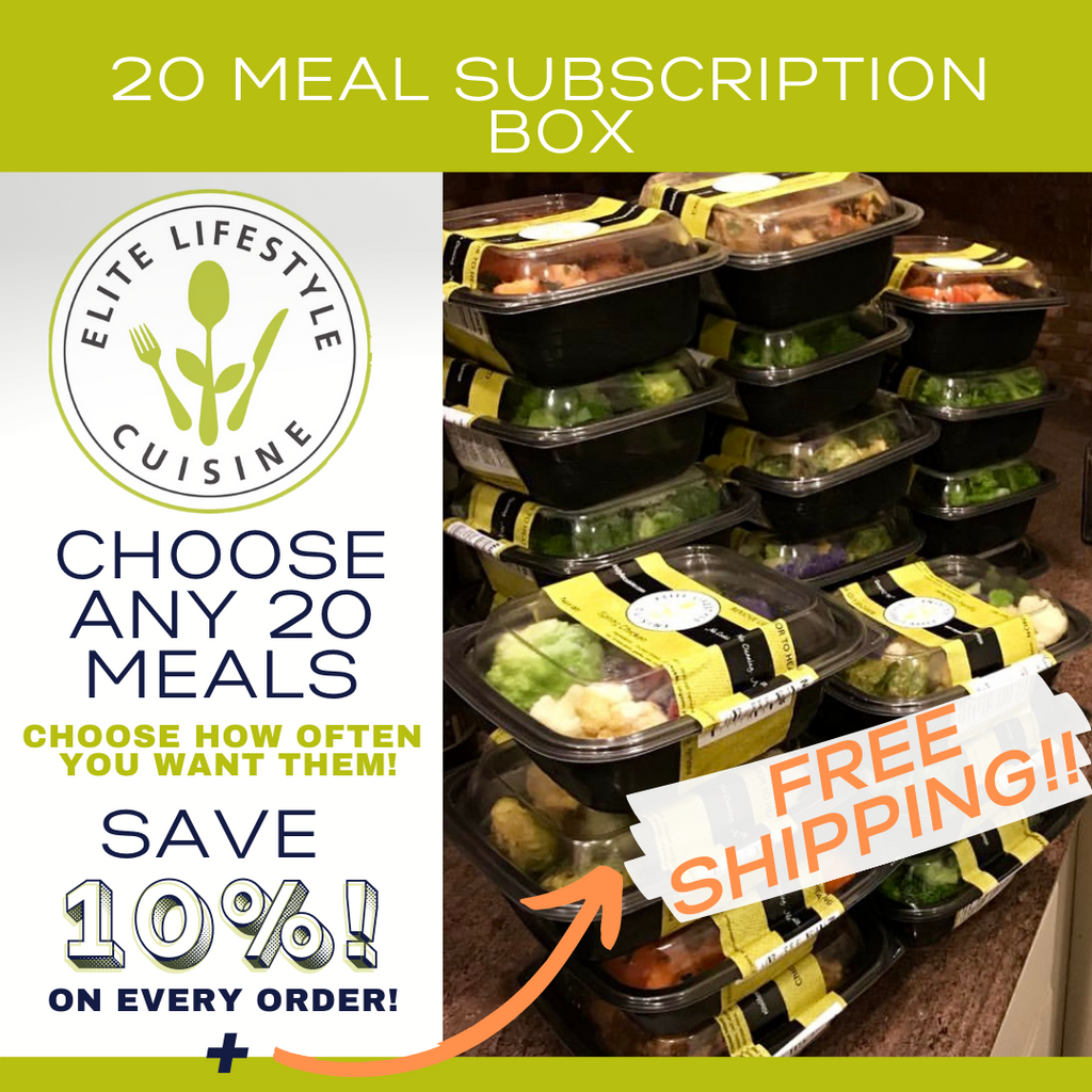 20 Meal Subscription Box