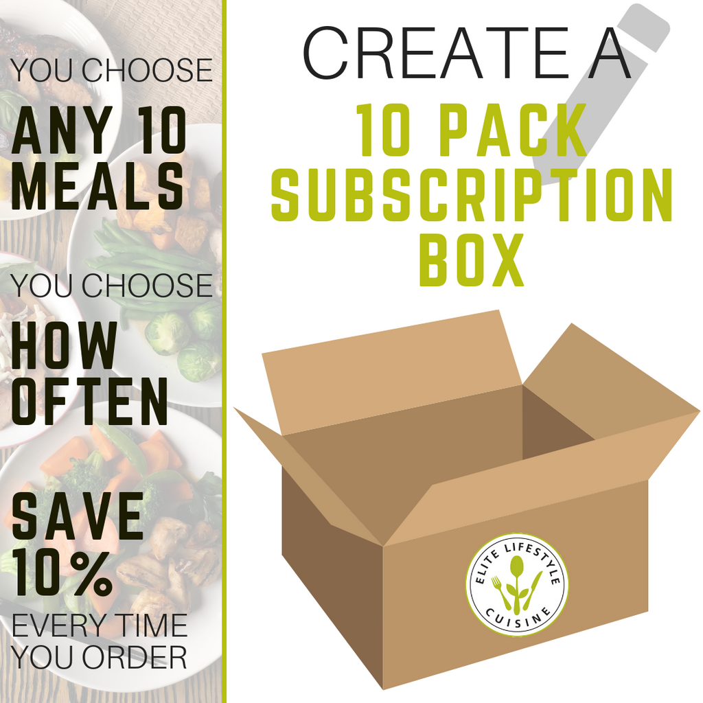 10 Meal Custom Subscription Box