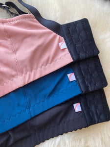 Wireless lounge bra - Blue - Queen of Cups Lingerie