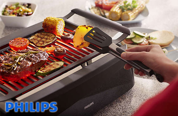 LIQUIDATION! Barbecue d'intérieur à chaleur infrarouge Philips - Taxes incluses - 45% de rabais